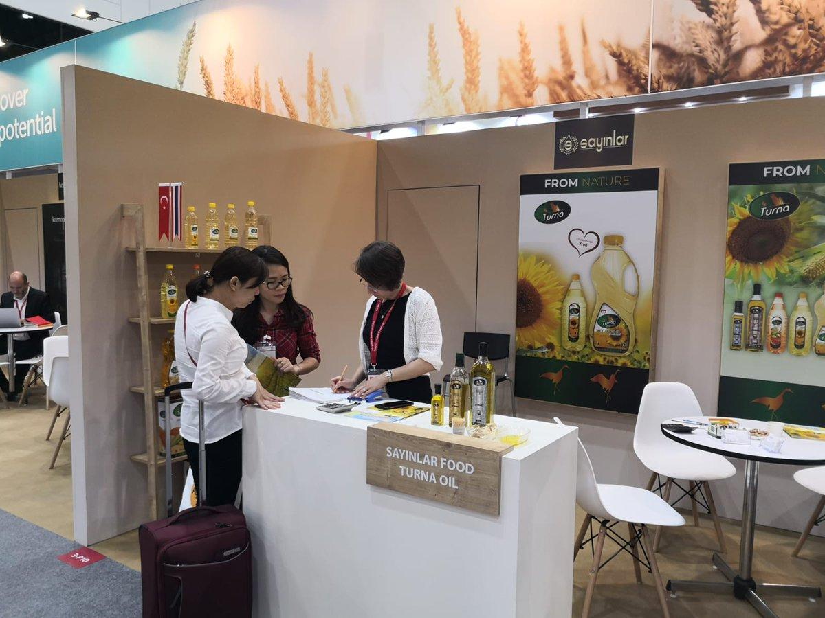 زيوت تورنا في المعرض!عالم الغذاء آسيا