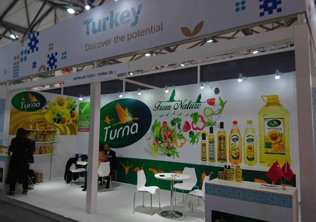 TURNA OILS AT FHC SHANGHAI FAIR!