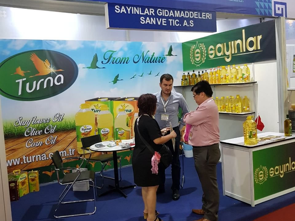 TURNA OILS AT MYANMAR FOOD & HOTEL FAIR!